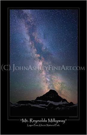 """Mt. Reynolds Milkyway"" poster"