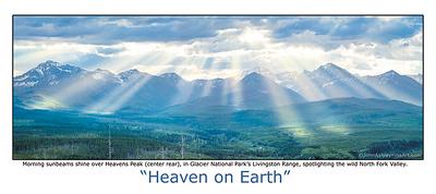 """Heaven on Earth"" post card"