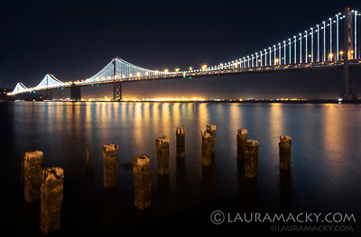 SF Bay Bridge @ Night