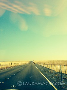 iPhone Photo:  Moving me down the highway....