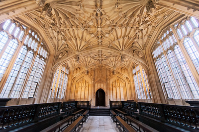 The Divinity School, Bodleian Library, Oxford, England