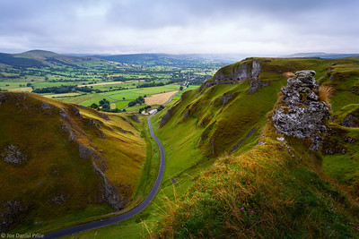 Stormy Sunrise at Winnets Pass, Castleton, Derbyshire, Peak District, England
