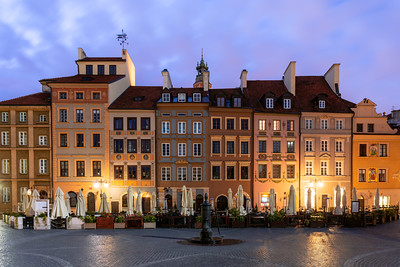 Warsaw, Old Town, Poland