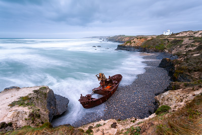 Ship Wreck, Portugal