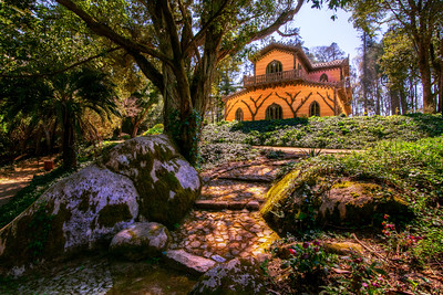 Chalet of the Countess of Edla, Sintra, Lisbon, Portugal