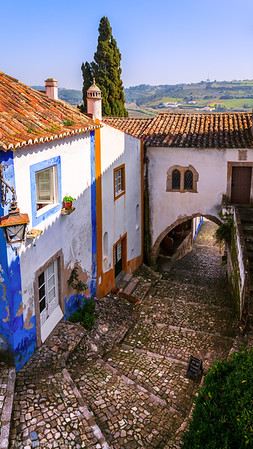 Beautiful Area of Obidos, Leiria, Portugall