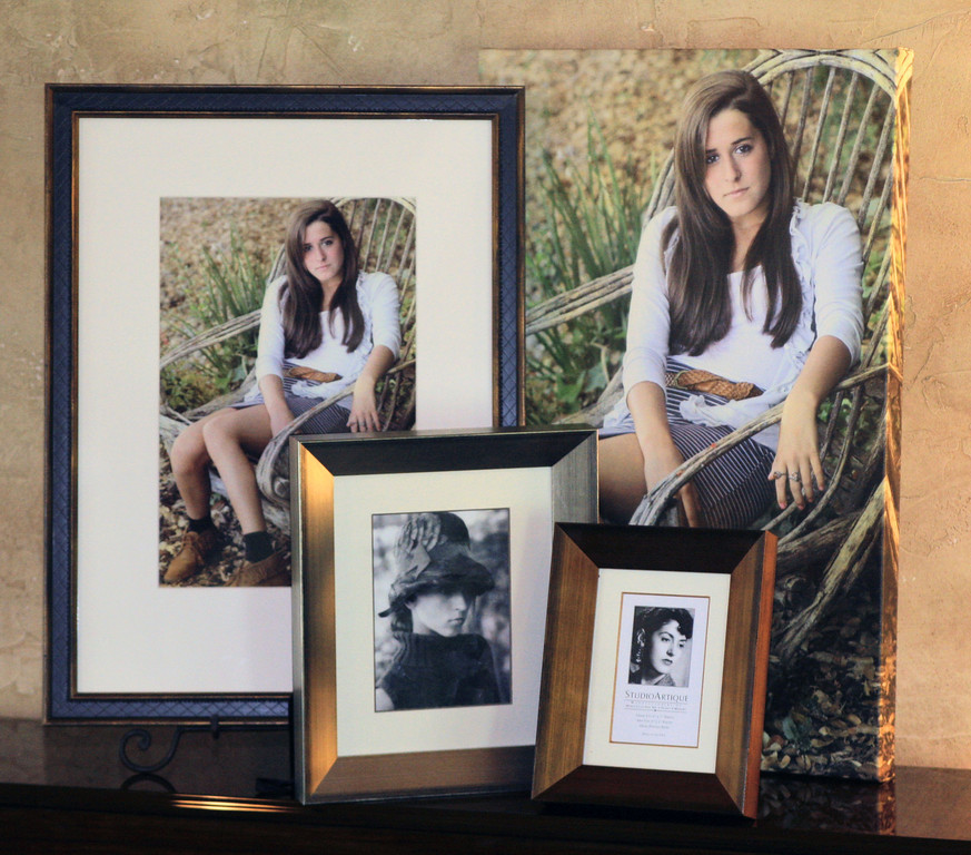"""We offer a variety of beautiful products::<br /> <br /> Lustre, Metallic, Linen and Fine Art paper photo prints.<br /> <br /> Giclee Linen Canvas  - Image wrapped with a 1 3/4"""" height, ready for immediate hanging, or """"stretched"""" if you want to add a frame molding.  With it's timely """"oil painting"""" feel, it's a classic product printed on 100 year archival material.<br /> <br /> Custom framing and mats signed & dated.<br /> <br /> Holiday Cards, Graduation Announcements, Custom Invites."""