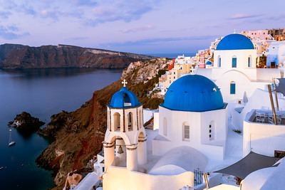 Sunrise, Oia, Santorini, Greece