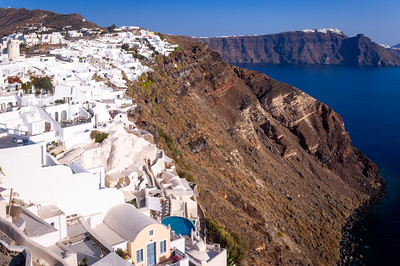 Coastline, Oia, Santorini, Greece