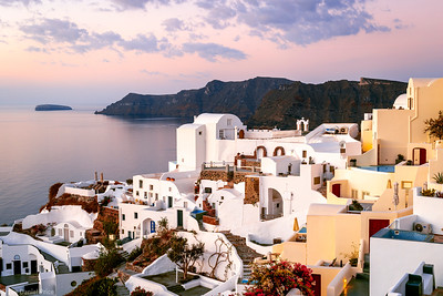 Beautiful Sunrise, Oia, Santorini, Greece