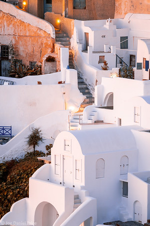 White Washed Houses, Oia, Santorini, Greece