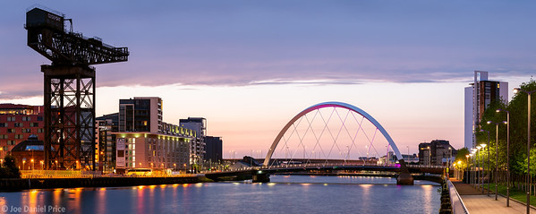 Finnieston Crane, Clyde Arc, River Clyde, Glasgow, Scotland