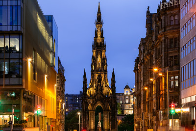 Scott Monument, Edinburgh, Scotland