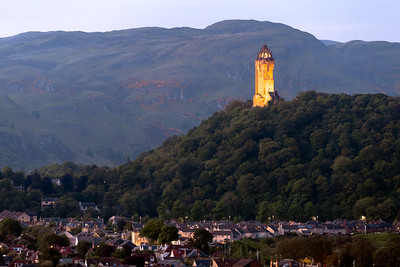Blue Hour, The National Wallace Monument, Stirling, Scotland