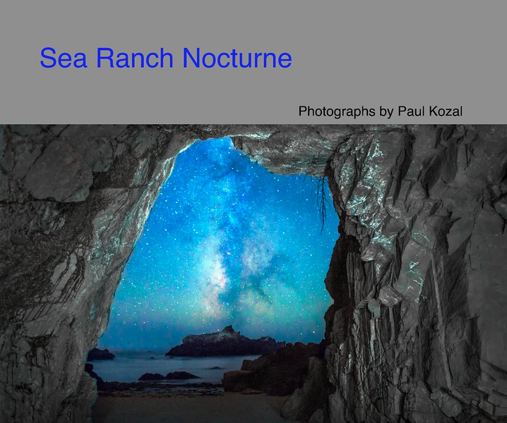 NEW- Sea Ranch Nocturne Book