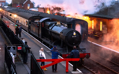 Steam Train, Taunton, Somerset, England