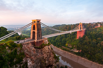 Sunrise, Clifton Suspension Bridge, Clifton, Bristol, England