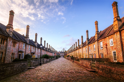 Vicars Close, Wells, Somerset, England
