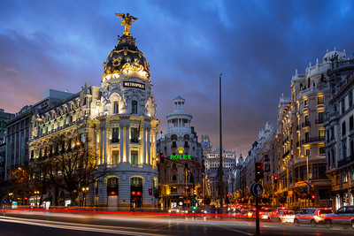 Edificio Metrópoli, Gran Via, Madrid, Spain