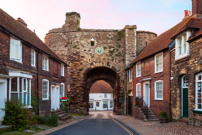 Landgate Arch, Rye, East Sussex, England