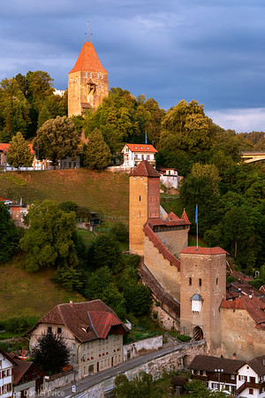 Castle Towers, Fribourg, Switzerland