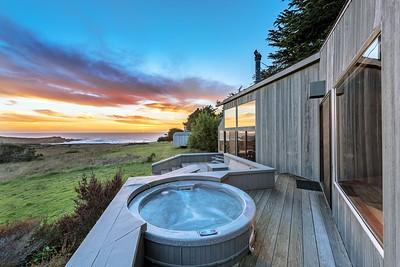 Hot Tub Deck off of Master Bedroom