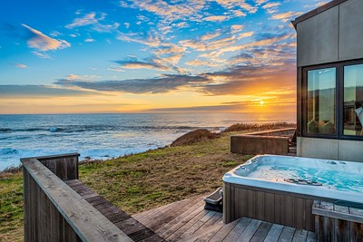 Hot Tub at Sunset