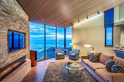 Living Room, Twilight View