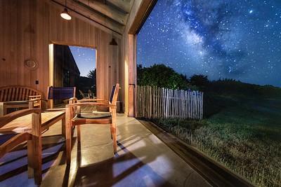 Star Gazing from Backyard