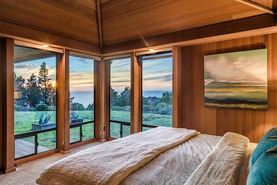 North Master Bedroom with Ocean Views