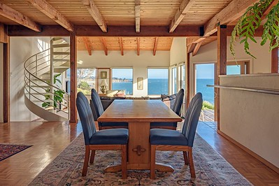 Dining Room with South Ocean Views