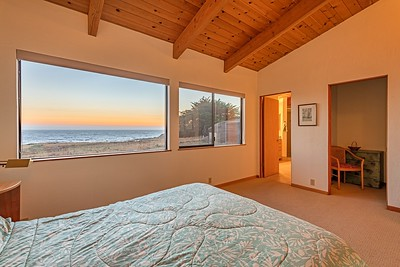Sunset in the Master Bedroom