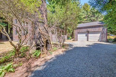 Front Driveway and Two Car Garage