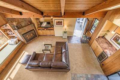 View of Living Room from Second Level