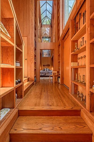 Entry Looking Towards Master Bedroom