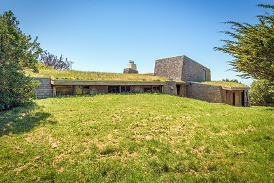 Side View Showing Sod Roof