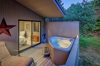 Hot Tub off Master Suite