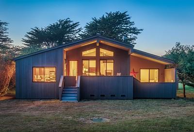 Twilight, Leeward House, Sea Ranch, California