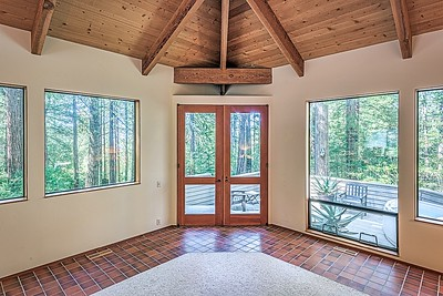 Living Room & Entry to Back Deck