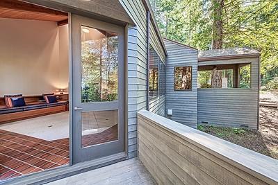 Deck & Living Room