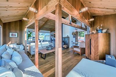 Window Seat & Living Room