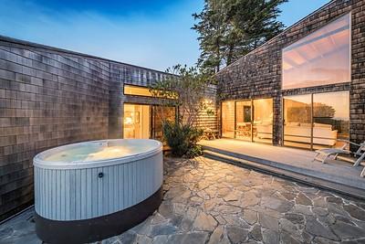 Hot Tub at Twilight