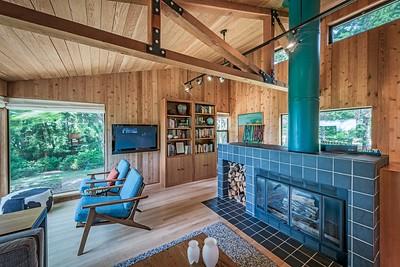 Wood Buring Fireplace