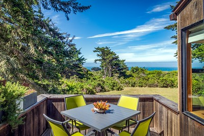 Sunny Deck with  Ocean Views