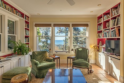 Library with Ocean Views