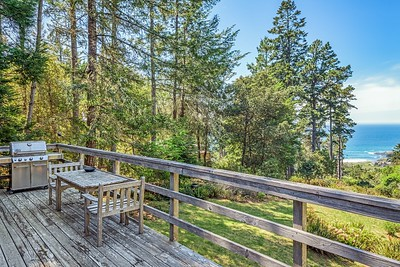 Back Deck with White Water Ocean Views