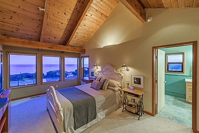 Master  Bedroom at Twilight