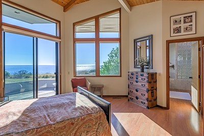 Master Bedroom with Ocean Views