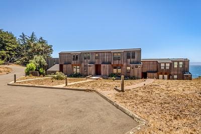Front View of Condo 2, Sea Ranch, CA