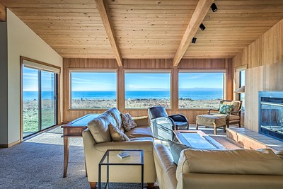 Living Room & Ocean View